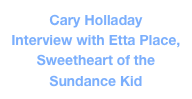 Cary Holladay